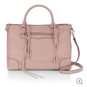 NWT Rebecca Minkoff med regan tote satchel pink